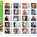 Famous Vegetarians Featured On PETA Stamps