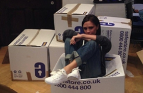 Victoria Beckham Donates Clothes To Typhoon Haiyan Victims
