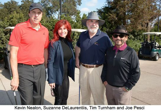 Stars At the second annual Celebrity Golf Classic to benefit the Melanoma Research Foundation