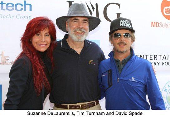 Suzanne DeLaurentiis, Tim Turnham and David Spade