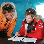 Prince Harry In Antarctica For Charity Trek
