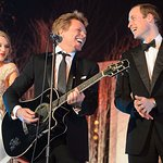 The Duke Of Cambridge Rocks With Taylor Swift And Jon Bon Jovi