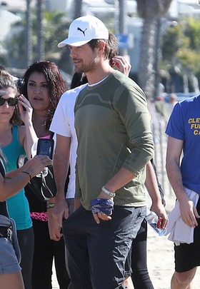 Josh Duhamel takes part in PUMA Run/Walk for Philippines Relief in Santa Monica