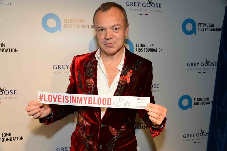 Graham Norton The Love is in My Blood Winter Dinner