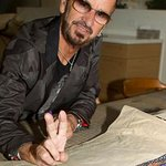 Ringo Starr Autographs Jackets To Benefit WaterAid