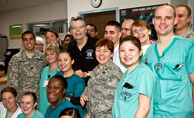 Stephen King personally thanks medical staff at Landstuhl Regional Medical Center