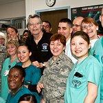 Stephen King Visits Deployed Troops In Germany