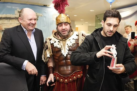 Dynamo at ICAP Charity Day