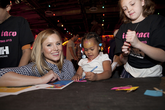 Kristen Bell at PATH Thanksgiving Event