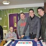 Harry Potter Stars Visit Teenage Cancer Trust Units