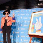Photos: Yoko Ono Visits Tokyo For Imagine There's No Hunger Campaign