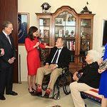 George H. W. Bush Honored With Liberty And Justice For All Award