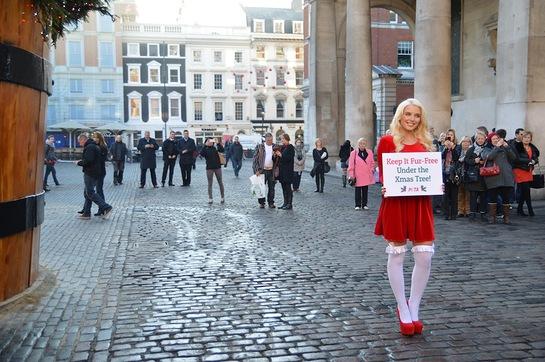 Helen Flanagan Says No To Fur This Christmas