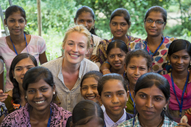 Cat Deeley travels to India to witness how the futures of adolescent girls are being transformed