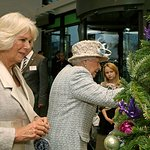 The Queen Helps The Duchess Of Cornwall Decorate Barnardo's Tree