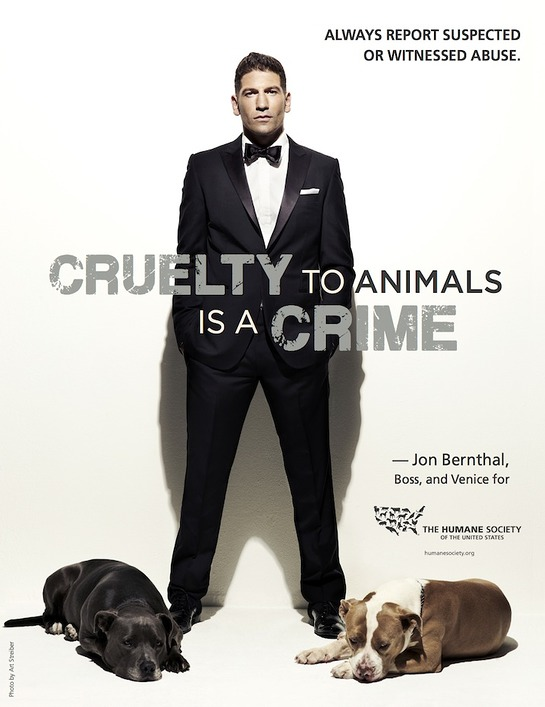 Jon Bernthal Gets Tough On Animal Cruelty