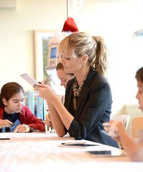 Heidi Klum Gives The Gift Of Creativity