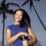 Michelle Wie brings charity to golf tour