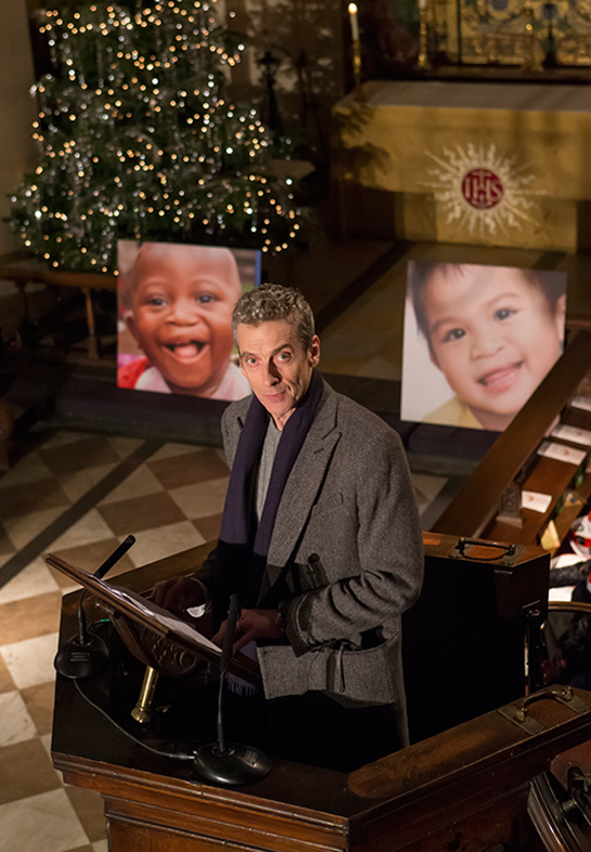 Peter Capaldi at Operation Smile UK's Carols By Candlelight event