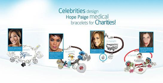 Hope Paige Celebrity Charity Bracelets.