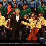 Placido Domingo Performs For Acapulco Flood Relief