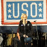 Kellie Pickler Plays For The Troops Over Holidays