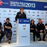 Prince Harry Welcomes Home The Walking With The Wounded South Pole Team