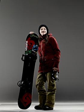 Kelly Clark – Snowboarding / Halfpipe