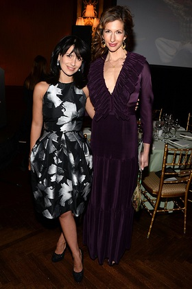 Hilaria Baldwin and Alysia Reiner Host Bent on Learning Inspire! Gala