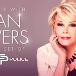 Meet Joan Rivers On The Set Of Fashion Police