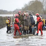Prince Charles Visits Flood And Riot Victims