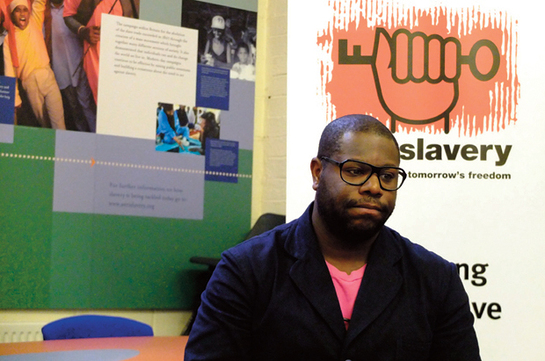 Steve McQueen becomes a patron of Anti-Slavery International to help end modern slavery