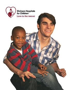 Shriners Hospitals for Children announces former patient and award-winning actor RJ Mitte as a national Love to the rescue Ambassador