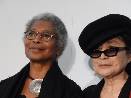 Alice Walker and Yoko Ono