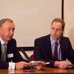 Prince William Attends Wildlife Conservation Symposium