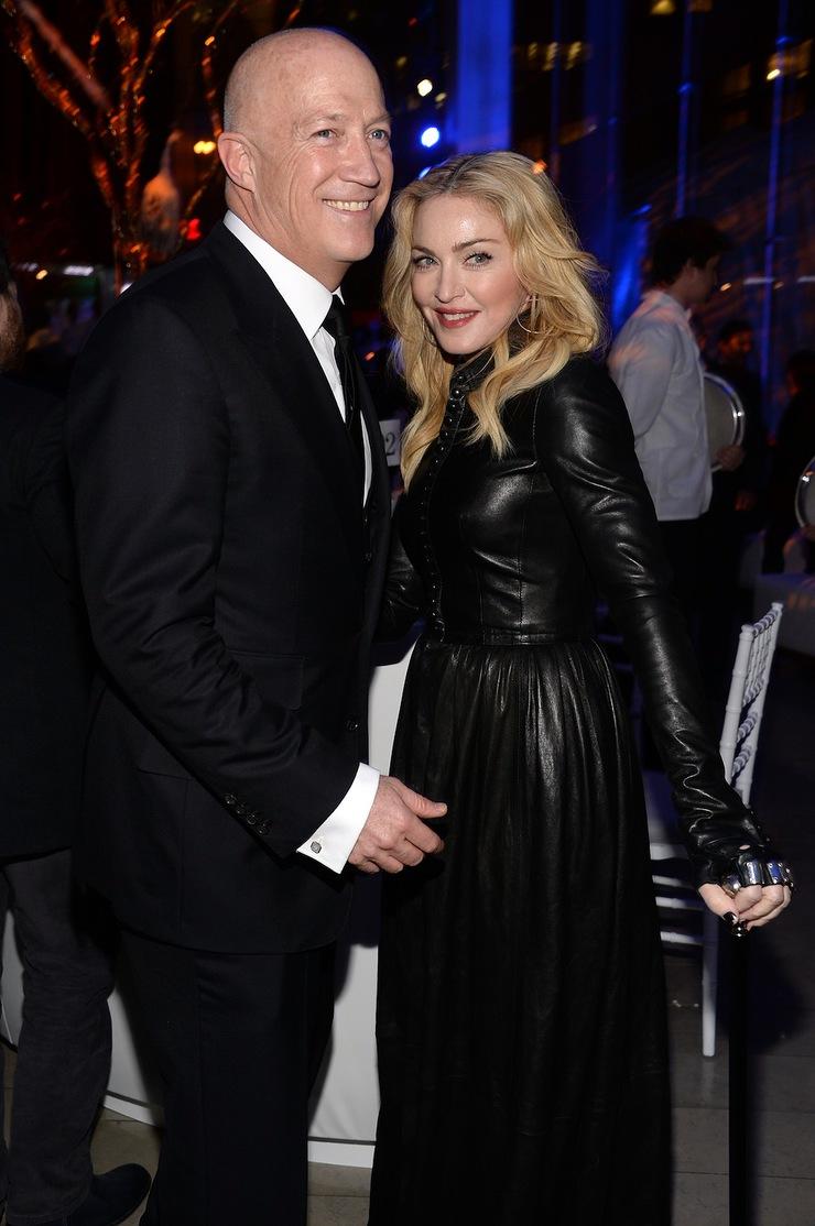 Bryan Lourd and Madonna