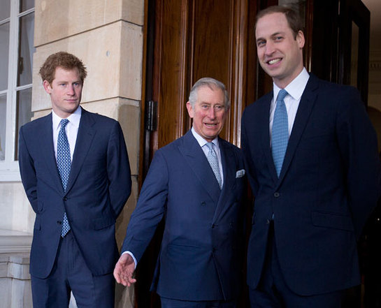 The Prince of Wales and The Duke of Cambridge and Prince Harry attend the Illegal Wildlife Trade conference in London