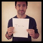 Hugh Jackman Takes Selfie For Everyone Matters Campaign