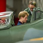 Prince Harry Launches Spitfire Flight Scholarship