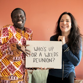 Mary-Louise Parker and Okello Sam