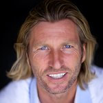 Alan Shearer And Robbie Savage Launch Battle Of The Backsides