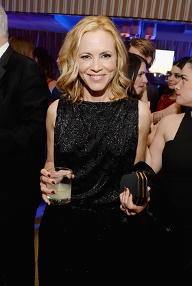 Maria Bello Sipping Jose Cuervo Oscar Gold Signature Cocktail