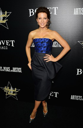 Kate Beckingsale At Hollywood Domino Event