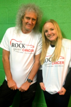 Brian May and Kerry Ellis - Rock Against Cancer
