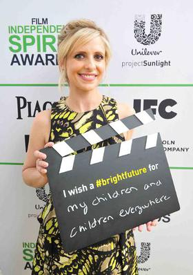 Sarah Michelle Gellar calls ACTION! to create a brighter future for children