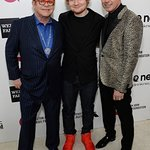 Ed Sheeran Performs At Star-Studded Elton John Oscar Viewing Party