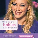 Hilary Duff Supports March Of Dimes