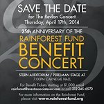 Sting Announces 2014 Rainforest Fund Benefit Concert