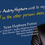 Audrey Hepburn's Son Joins Everyone Matters Campaign