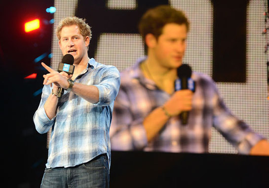 Prince Harry at We Day